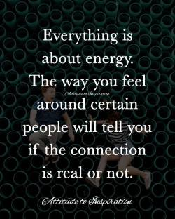 <3 Everything is about energy …