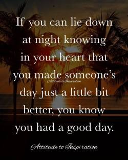 <3 If you can lie down at night …
