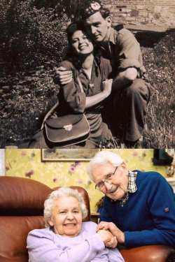 Edith Steiner, a Jewish woman who survived the Holocaust, and John Mackay, the Scottish Soldier  ...