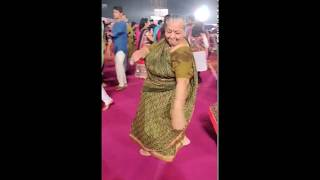 Dadi Playing Garba During Navratri ! A true inspiration Age is just a number !