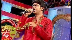 Madhi Sharada Devi Song  | Sai Charan  Performance | Padutha Theeyaga| 10th January 2021 |ETV Telugu