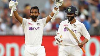 Rahane celebrates gusty captain's knock at the MCG   Vodafone Test Series 2020-21