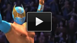 WWE 12': Sin Cara's (Mistico) Entrance + Finisher (WWE 12' Footage)