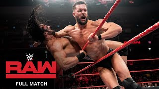 FULL MATCH – Finn Bálor vs. Drew McIntyre vs. Dolph Ziggler: Raw, Dec. 24, 2018