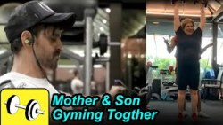Hrithik roshan's Mom 75yrs  Gym Workout | True inspiration