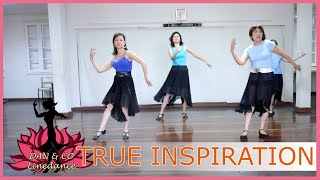 Line Dance True Inspiration (Dance & Teach)