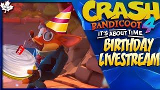 It's My Birthday!! – Crash Bandicoot 4: It's About Time PS5 LIVESTREAM
