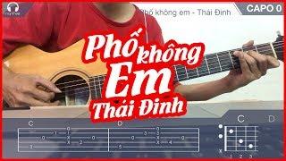 (Hướng dẫn Guitar) Phố không em – Thái Đinh   NGẦU GUITAR