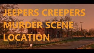 Real Inspiration for Jeepers Creepers scene in Michigan