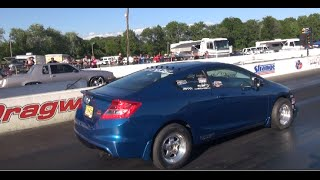 Awkward Moment: G-Body on 22s walks a Boosted Civic