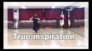 23.True Inspiration line dance ( High intermediate NC2S) Julia Wetzel-August 2018