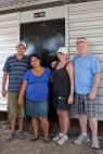 Dan & Cheryl Murdock with the family they sponsored in 2013.