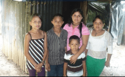 Idalia Gomez, and her four children, Gerardi, Sofia, Kenedy,and Diana