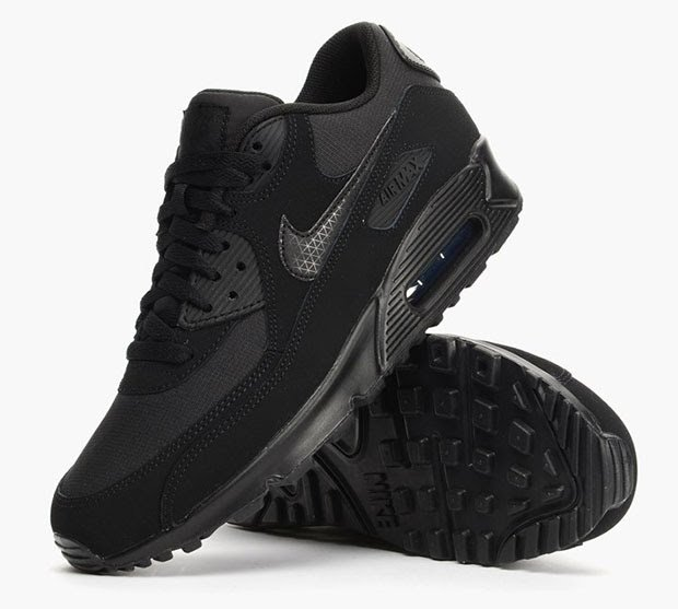 nike air max 90 black essential