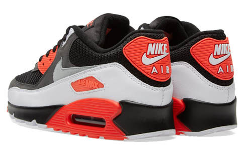 NIKE AIR MAX 90 ESSENTIAL BLACK PATTERNED TICK