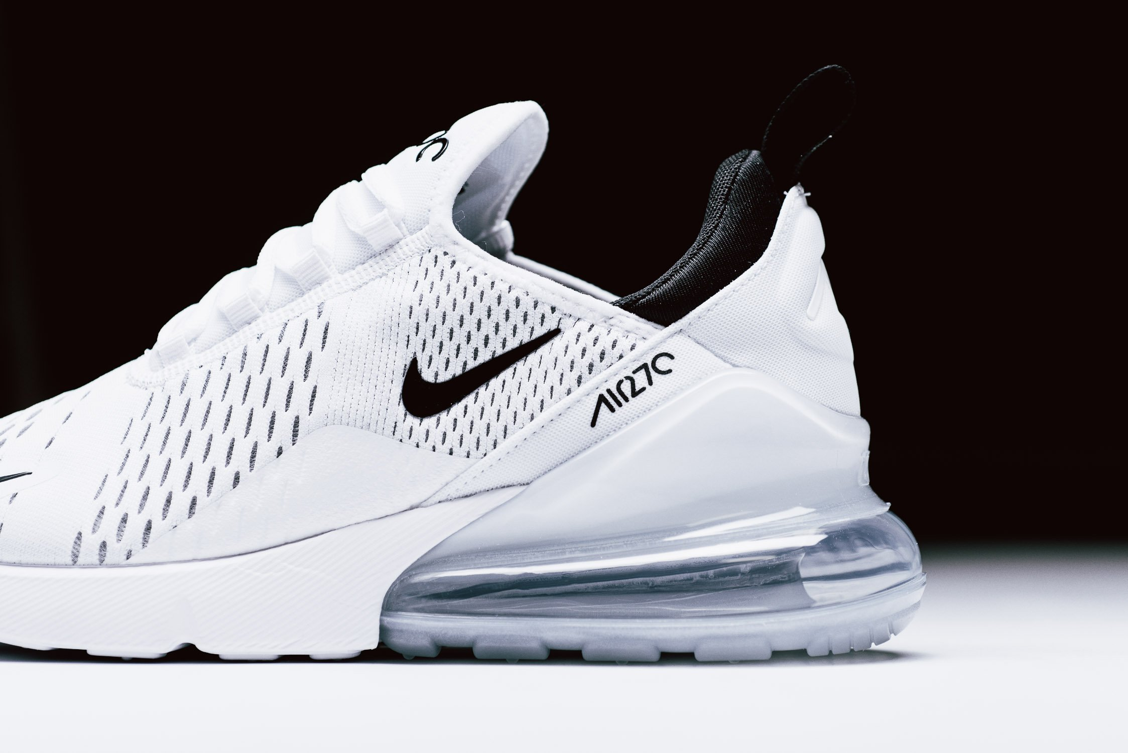 quality design 45189 e6be9 Nike Air Max 270 White Black   AH8050-100