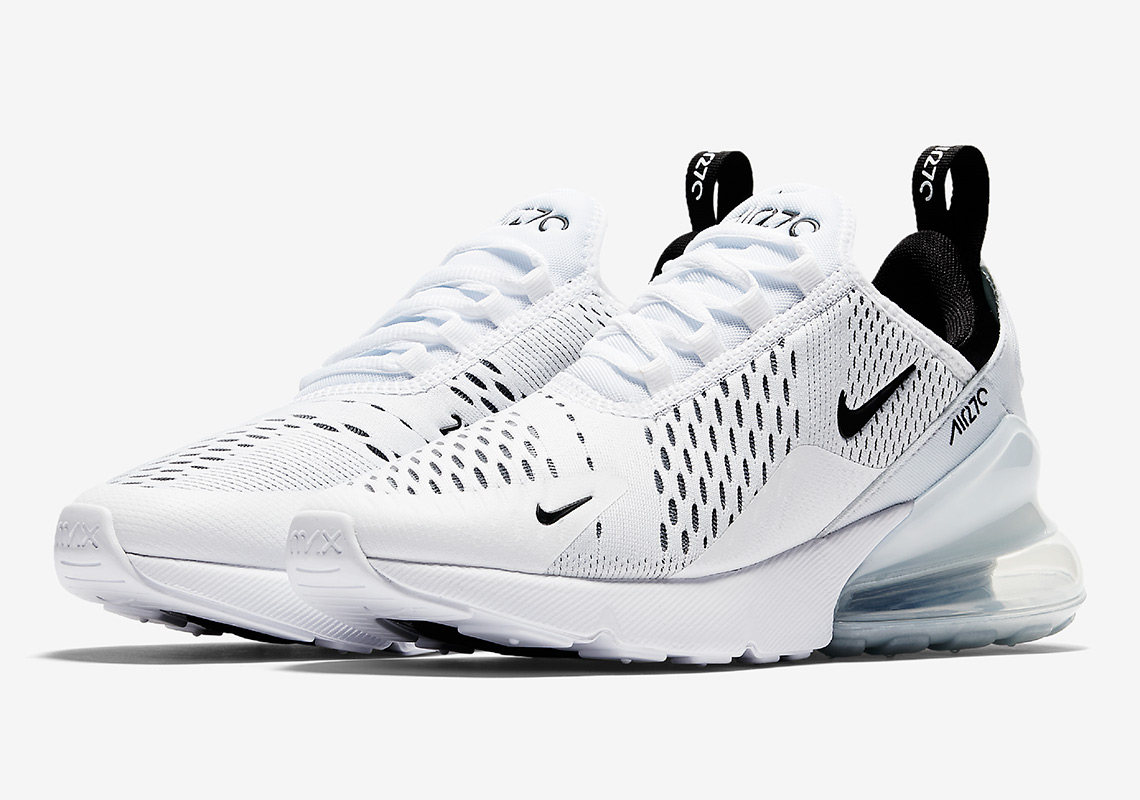 Nike Air Max 270 White Black | AH8050 100