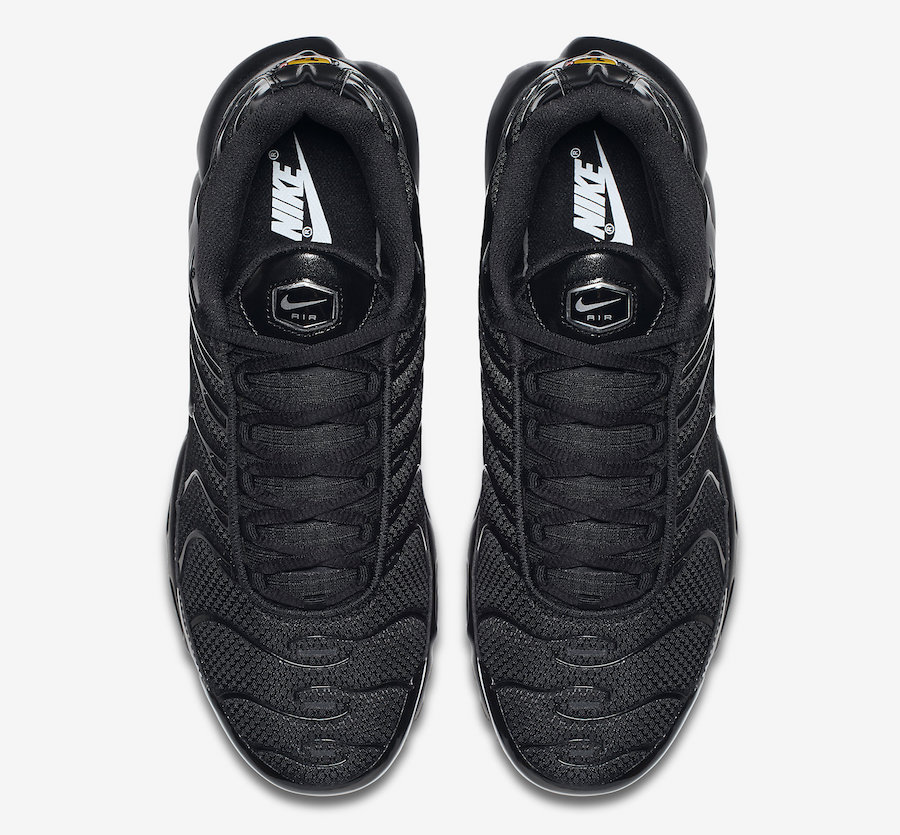 Nike Air Max Plus TN Black Golden Latest