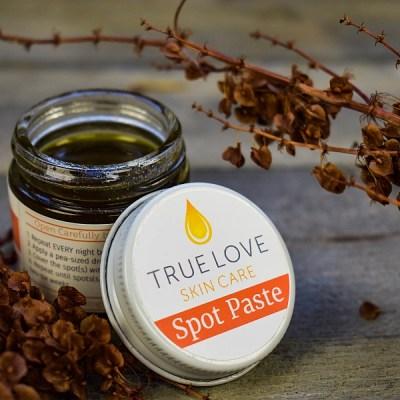 True Love Skin Care Spot Paste