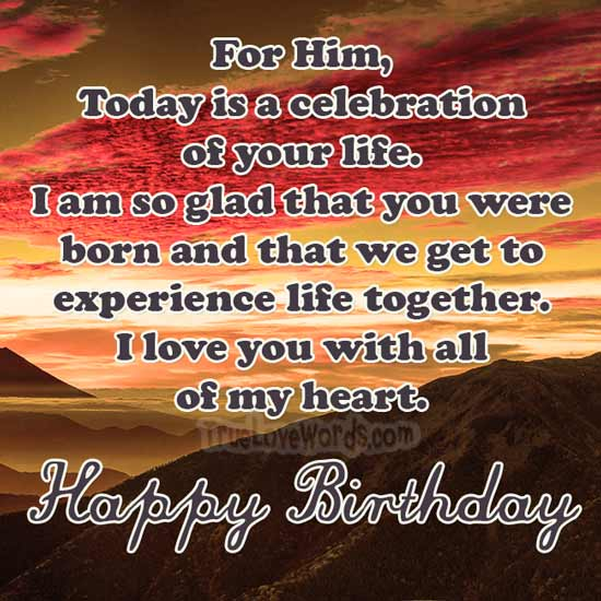 love birthday wishes for