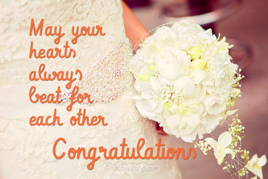 50 Beautiful Wedding Day Wishes For Friends True Love Words