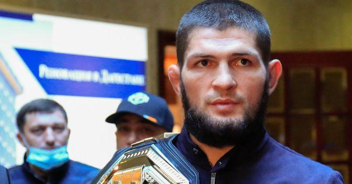 Khabib posts X-ray of broken toe suffered prior to UFC 254