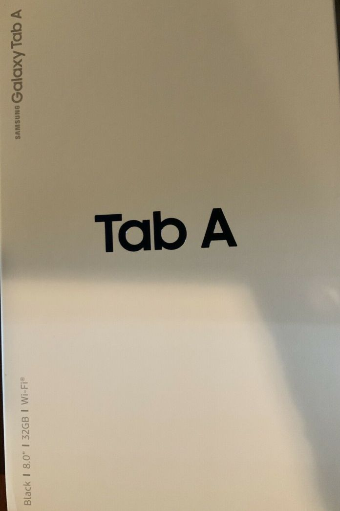 Samsung Galaxy Tab A SM-T380N 32GB, Wi-Fi, 8 inch – Black