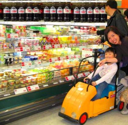 Grocery Store as Minefield Child_shopping_cart2