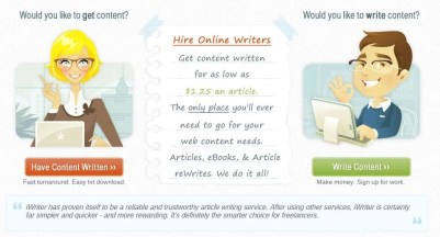 Use iWriter to Get Articles for Your Blog Traffic