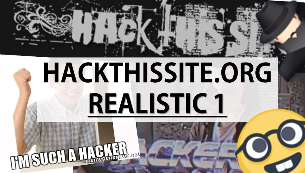 HACK THIS SITE REALISTIC 1 SOLUTION