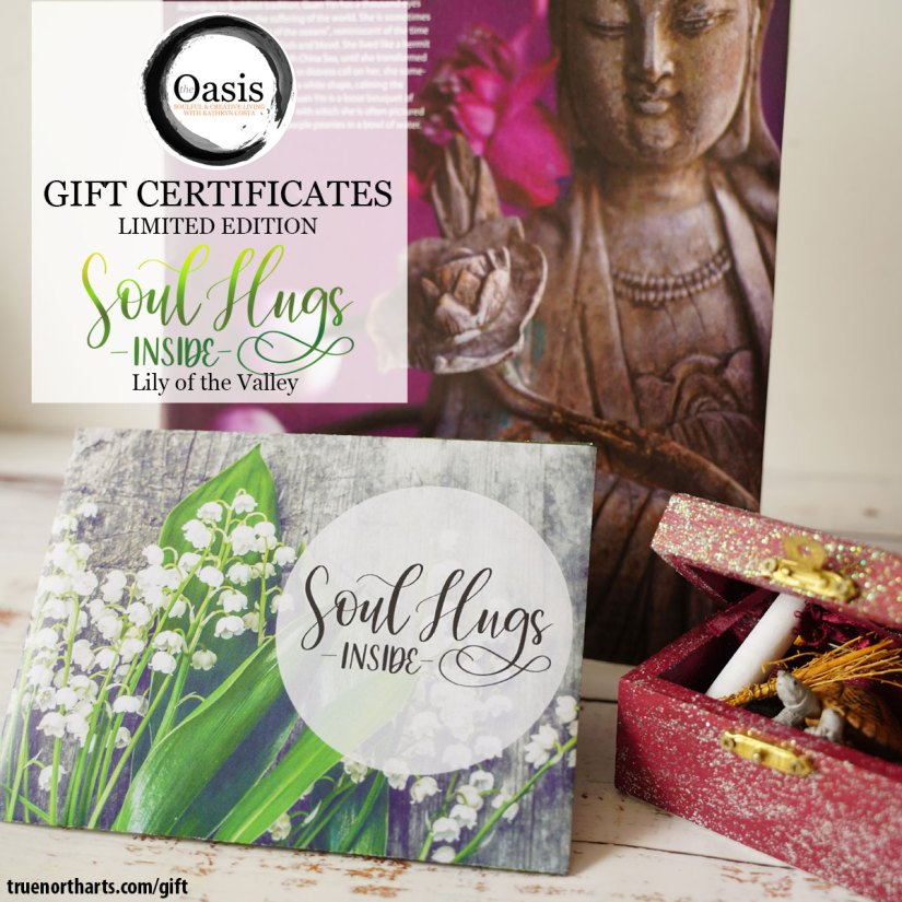 Oasis Gift Certificates - Limited Edition - Lily of the Valley