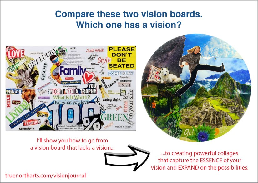 Vision Board Comparison - Which one has a vision?