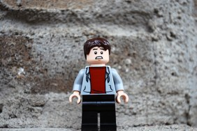 LEGO Jurassic World Zach Alternate Face