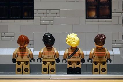 LEGO Ghostbusters rear printing.