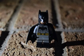 LEGO Batman alternate face.
