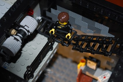 MOC LEGO Store catwalk.