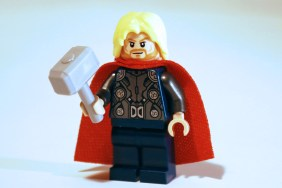 LEGO Thor front view.