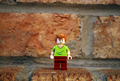 LEGO Shaggy front view