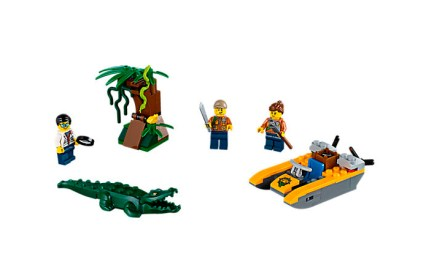 Jungle Starter Set [60157], $12.99