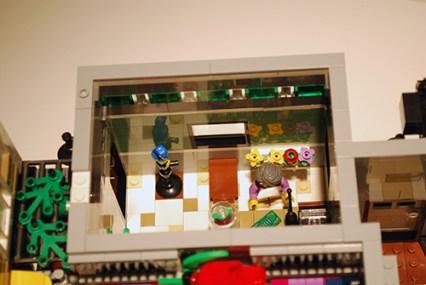 LEGO Assembly Square [10255] flower shop.