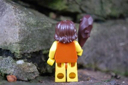 LEGO Caveman rear view
