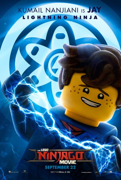 Official Ninjago Movie Jay character poster