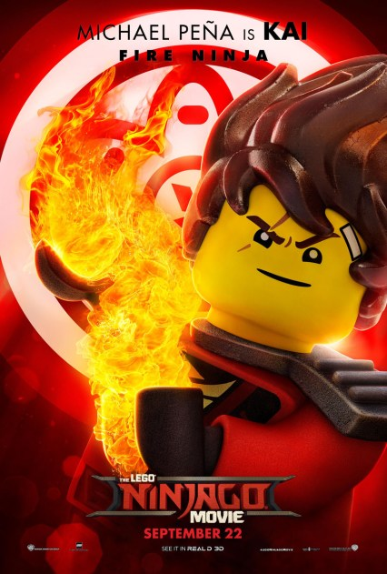 Official Ninjago Movie Kai character poster