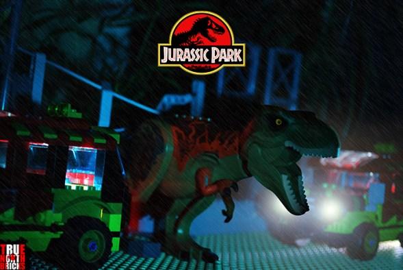 Jurassic Park LEGO-fied