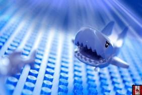 Shark from LEGO Fishing Boat (60147)