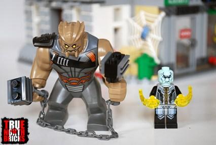Front view of the villains of the Sanctum Sanctorum Showdown.