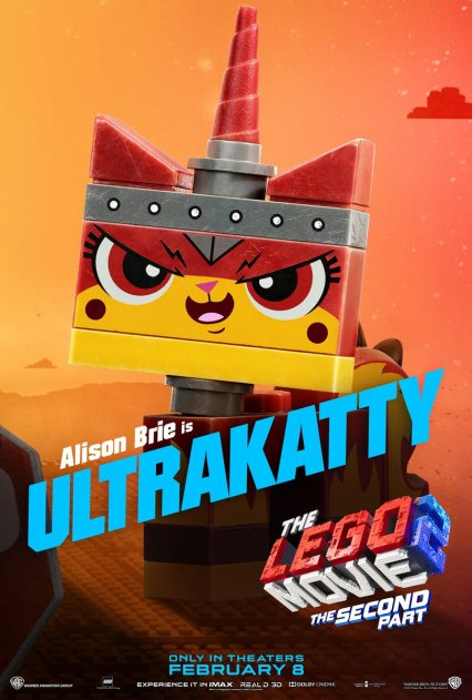 Official LEGO® Movie 2 Unikitty poster.