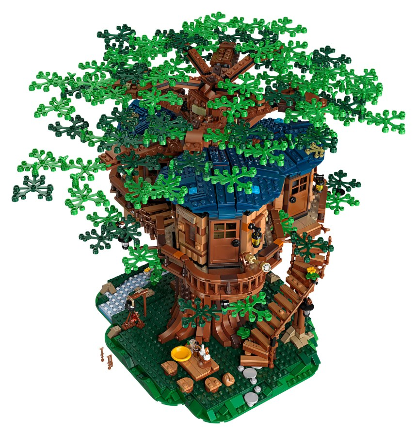 Number one in my top ten set picks is the Tree House.
