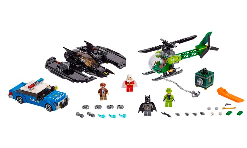 Batman Batwing and The Riddler Heist makes my top 10 set picks because of the Minifigures that come with it,