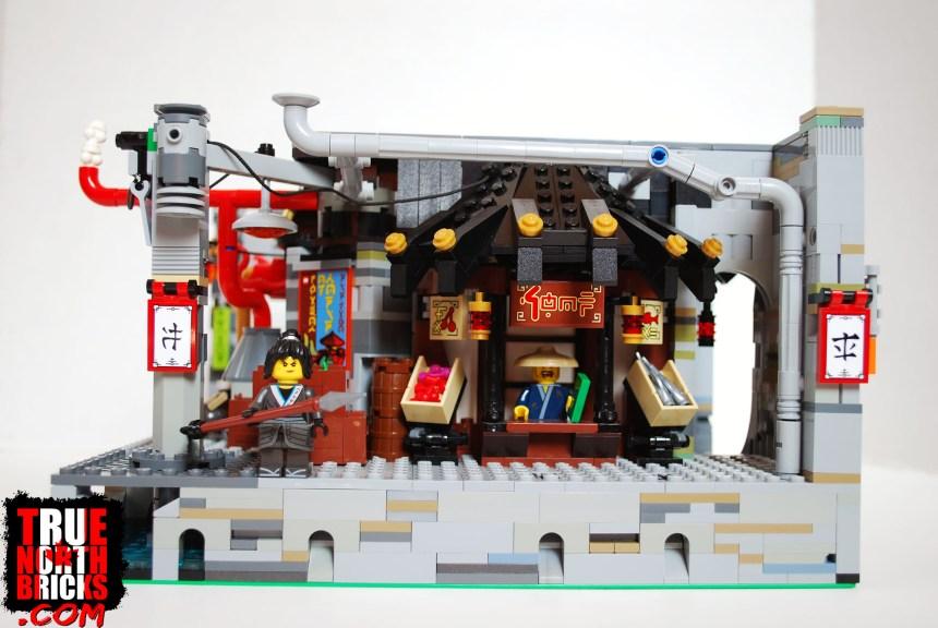 Customized Ninjago City Chase set.